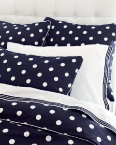 Newport Dot Bedding from Williams-Sonoma Home